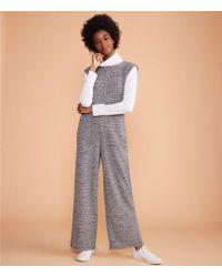 Lou & Grey - Boucle Tweed Jumpsuit - Lyst