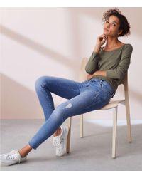 Lou & Grey - Fresh Cut Skinny Jeans - Lyst