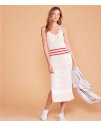2c243c0f40e Lyst - Lou   Grey Joy Stripe Button-up Cotton Midi Dress