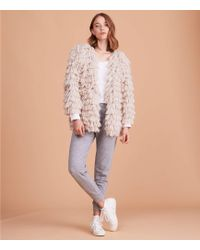 Lou & Grey - Cream Puff Jacket - Lyst
