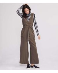 e8fc436ad5fe Lyst - Lou   Grey Luster Culotte Jumpsuit in Blue