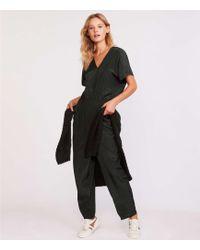 Lou & Grey - Fluidwash V-neck Jumpsuit - Lyst