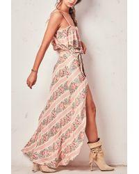 LoveShackFancy Jolene Skirt - Pink