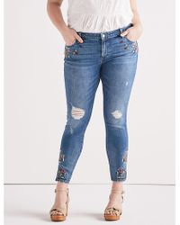 Lucky Brand - Ginger Skinny Jean In Macedonia - Lyst