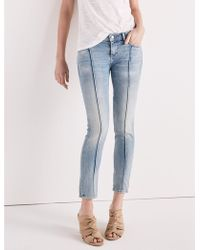 Lucky Brand - Lolita Mid Rise Skinny Jean With Pintuck - Lyst