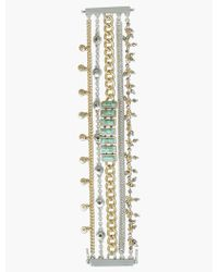 Lucky Brand - Pave Turquoise Lucky Layer Bracelet - Lyst