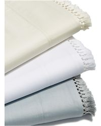 Lucky Brand - Fringe White Full Sheet Set - Lyst