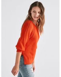Lucky Brand - Stitch Pullover - Lyst