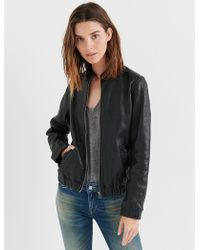 Lucky Brand - Ana Leather Jacket - Lyst
