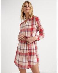 c028627a0e1848 Lucky Brand - Amber Shirt Dress - Lyst