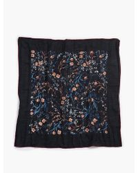 Lucky Brand - Sprigged Floral Bandana - Lyst