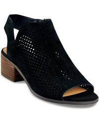 Lucky Brand - Nerelly Open-toe Bootie - Lyst
