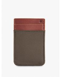Lucky Brand - Nylon Leather Card Case - Lyst