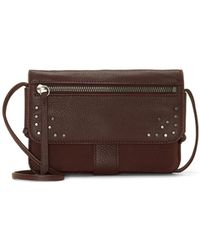 Lucky Brand Lore Convertible Wallet - Brown