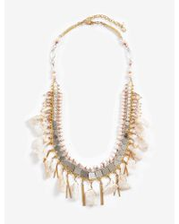 Lucky Brand - Stone Layer Necklace - Lyst