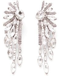 Lulu Frost - Glacial Statement Earring - Clear - Lyst