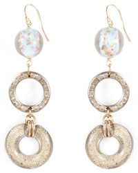 Lulu Frost - Vintage Silvery Circle Passage Earring - Lyst