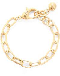 Lulu Frost - Oval Link Chain Plaza Bracelet Base - Lyst