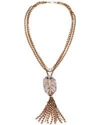 Lulu Frost - Drift Tassel Necklace - Lyst