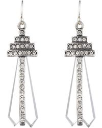 Lulu Frost - Crystaline Earrings - Lyst