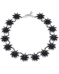 Lulu Frost - Radiant Necklace - Black - Lyst