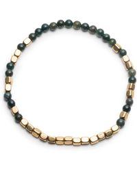 George Frost - Merchant Gold & Bloodstone Bracelet - Lyst