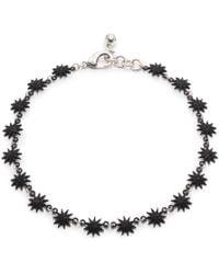 Lulu Frost - Electra Riviera Necklace - Black - Lyst