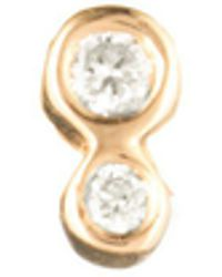 Lulu Frost - Zodiacs 14k & Diamond Water Stud - Lyst