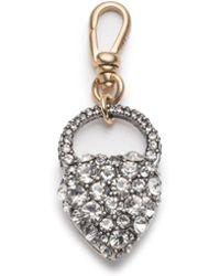 Lulu Frost - Crystal Heart Charm - Lyst