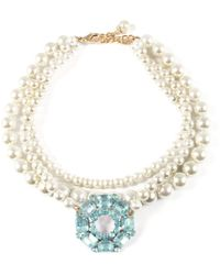 Lulu Frost - Vintage Pearl Collage Necklace 8 - Lyst