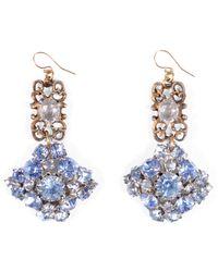 Lulu Frost - Vintage Sky Blue Voyage Earrings - Lyst
