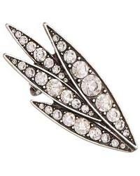 Lulu Frost - Datura Ear Cuff-silver - Lyst