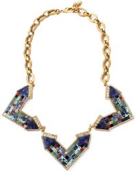 Lulu Frost - Petra Statement Necklace - Lyst