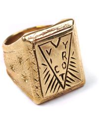 Lulu Frost - George Frost Victory Ring- Brass - Lyst