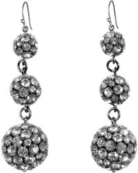 Lulu Frost - Royale Triple Drop Earrings - Lyst