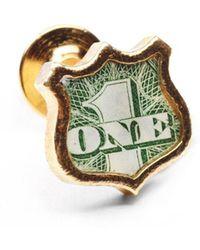 Lulu Frost - George Frost G. Frost Bullet Shield Pin - Brass - Lyst