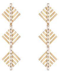 Lulu Frost - Cascadia Pine Drop Earrings - Lyst