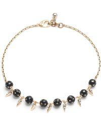 Lulu Frost - Fidelity Midi Necklace - Lyst