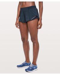 fb24f101a lululemon athletica Hotty Hot Short Ii in Pink - Lyst