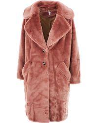 Shrimps - Pink Coat - Lyst