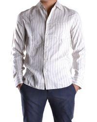 Marc Jacobs - Men's Mcbi198028o White Cotton Shirt - Lyst