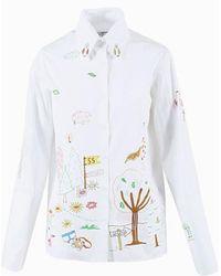 "Mira Mikati ""adventure"" Print Shirt"