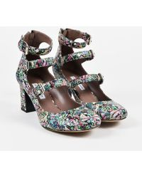 Tabitha Simmons - Nib Multicolour Leather Dragonfly Print Ginger Court Shoes - Lyst
