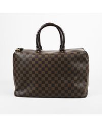 """Louis Vuitton - Damier Ebene Coated Canvas """"greenwich Pm"""" Overnight Bag - Lyst"""