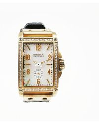 "Brera Orologi - ""francesca"" Stainless Steel Diamond Watch - Lyst"