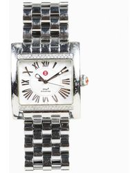 """Michele - Stainless Steel """"mw2"""" Watch - Lyst"""