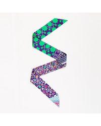 "Hermès - ""tapis Persan"" Silk Scarf - Lyst"