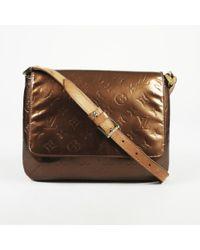 "Louis Vuitton - Monogram Vernis Leather ""thompson Street"" Shoulder Bag - Lyst"
