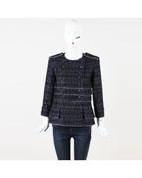 Chanel - Collarless Tweed Jacket - Lyst