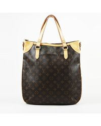 "Louis Vuitton - ""odeon Gm"" Monogram Coated Canvas Bag - Lyst"